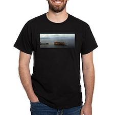 Perce Rock Gaspe Dark T-Shirt