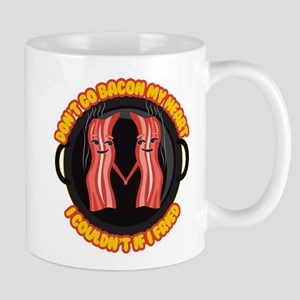 Emoji Bacon My Heart 11 oz Ceramic Mug