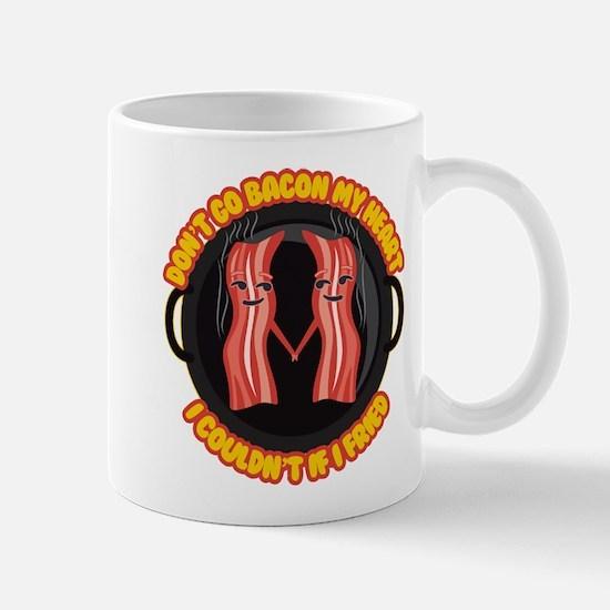 Emoji Bacon My Heart Mug