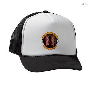 feecee480d6f1 I Heart Bacon Kids Trucker Hats - CafePress