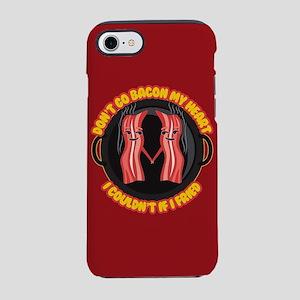 Emoji Dont go Bacon my Heart iPhone 8/7 Tough Case