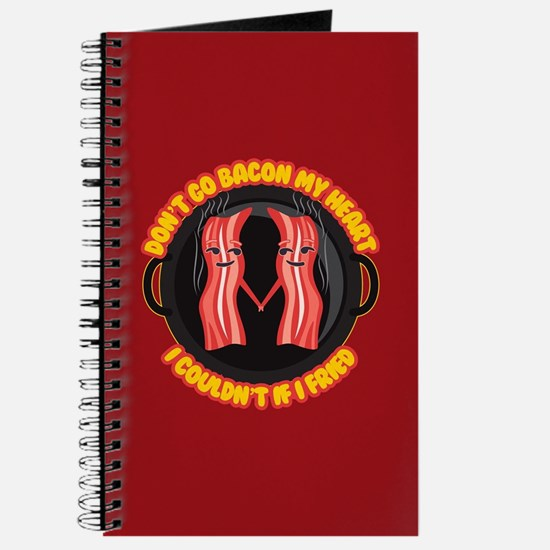 Emoji Dont go Bacon my Heart Journal