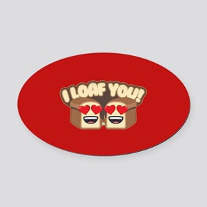 Emoji Valentines Day Car Magnets - CafePress