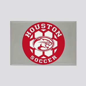 Houston Soccer Rectangle Magnet