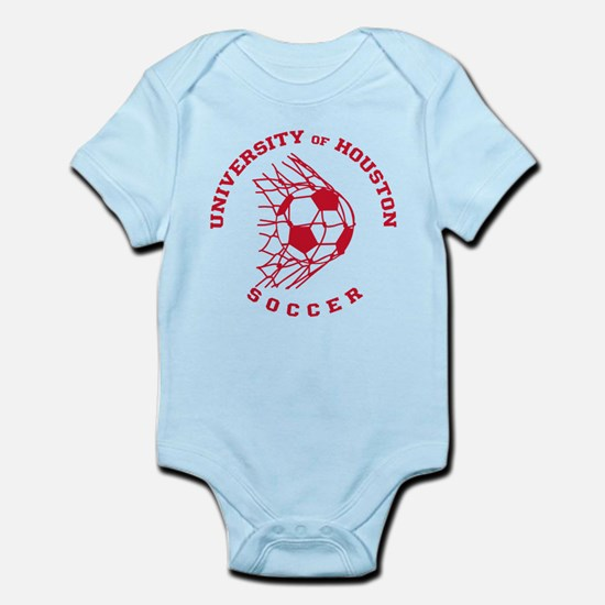 University of Houston Soccer Baby Light Bodysuit