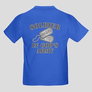 Soldier God's Army Kids Dark T-Shirt