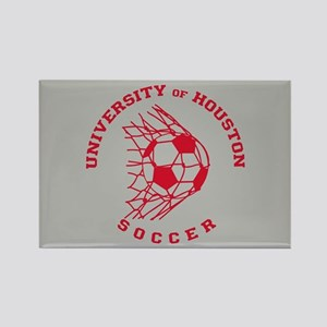 University of Houston Soccer Rectangle Magnet