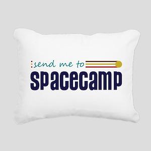 Send me to Spacecamp Rectangular Canvas Pillow