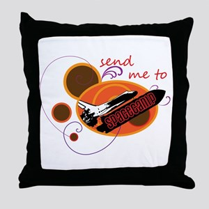 Send me to Spacecamp Throw Pillow