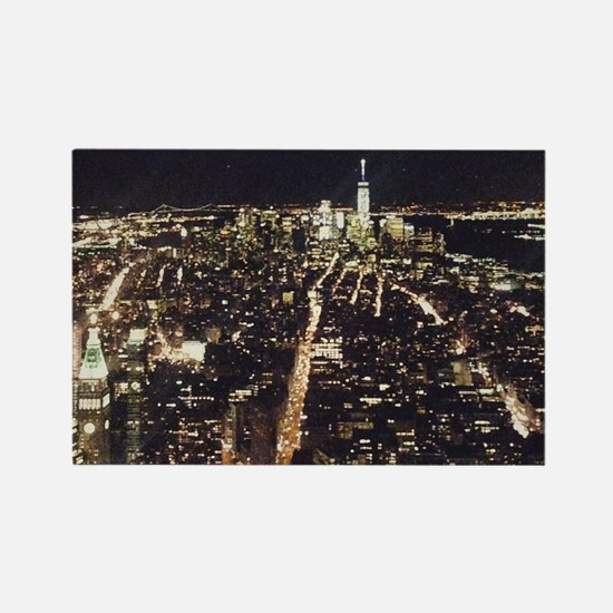 Cute Empire state building Rectangle Magnet