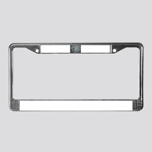 Majestic Crow License Plate Frame
