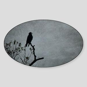 Majestic Crow Sticker