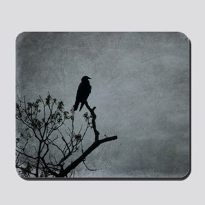 Majestic Crow Mousepad
