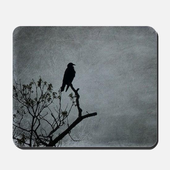 Majestic Crow Mousepad