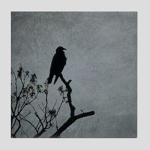 Majestic Crow Tile Coaster