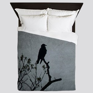 Majestic Crow Queen Duvet