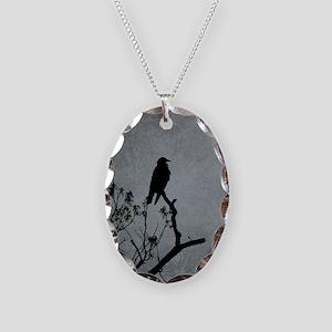 Majestic Crow Necklace