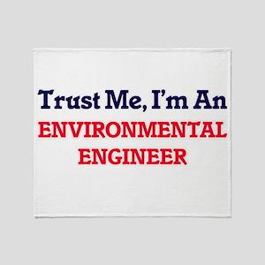 Trust me, I'm an Environmental Engin Throw Blanket