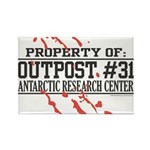Outpost #31 Rectangle Magnet (100 pack)