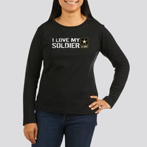 U.S. Army: I Love My Soldier Long Sleeve T-Shirt
