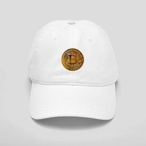 Bitcoin Logo Symbol Design Icon Cap