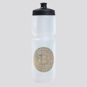 Bitcoin Logo Symbol Design Icon Sports Bottle