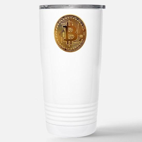 Bitcoin Logo Symbol Design Icon Mugs