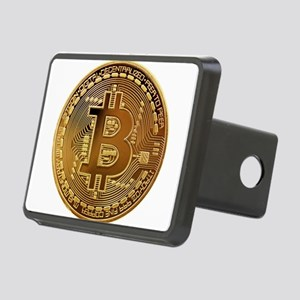 Bitcoin Logo Symbol Design Rectangular Hitch Cover