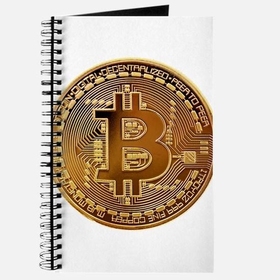 Bitcoin Logo Symbol Design Icon Journal