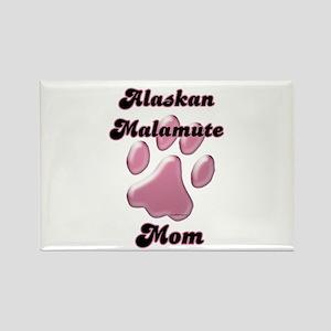 Malamute Mom3 Rectangle Magnet