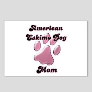 Eskimo Dog Mom3 Postcards (Package of 8)