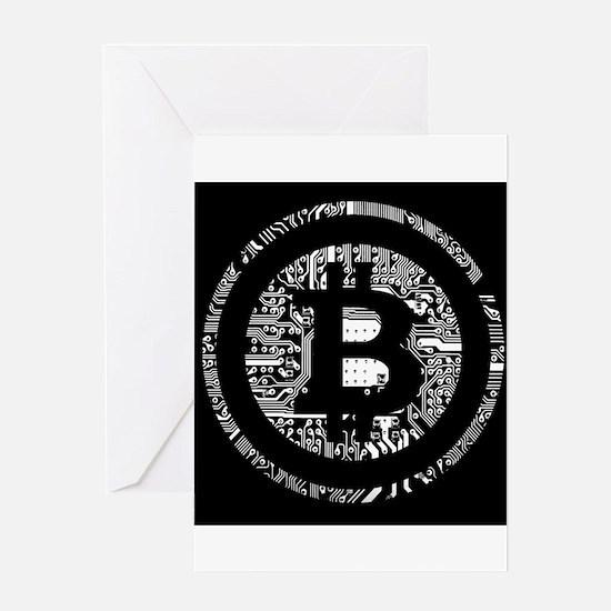 Bitcoin Greeting Cards