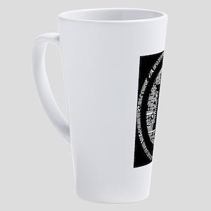 Bitcoin 17 oz Latte Mug