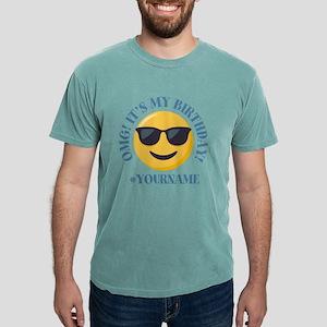 Emoji Cool Birthday Mens Comfort Colors Shirt