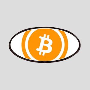 Bitcoin Logo Symbol Design Icon Patch