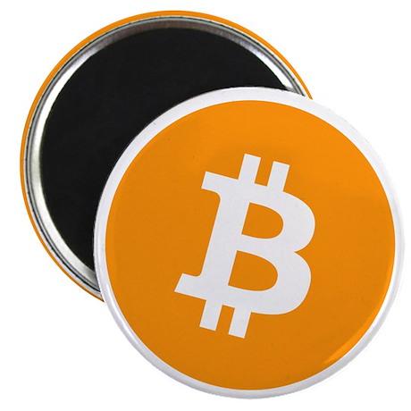 Bitcoin Logo Symbol Design Icon Magnets