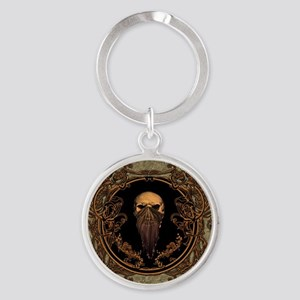 Amazing skull on a frame Keychains