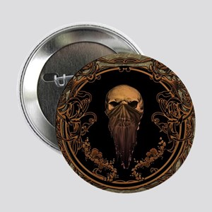"Amazing skull on a frame 2.25"" Button (100 pack)"