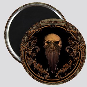 Amazing skull on a frame Magnets