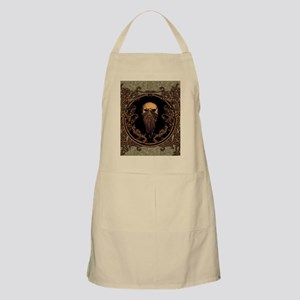 Amazing skull on a frame Apron