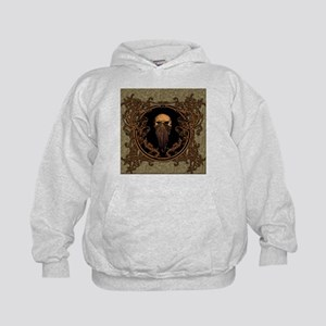 Amazing skull on a frame Hoodie