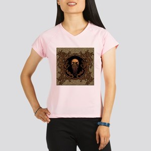Amazing skull on a frame Performance Dry T-Shirt