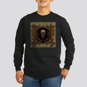 Amazing skull on a frame Long Sleeve T-Shirt