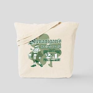 Shenanigan's Irish Pub (light Tote Bag