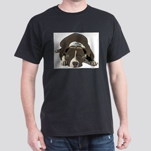Sleepy Pit Bull look ahead T-Shirt