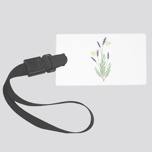 Lavender Butterfly Luggage Tag