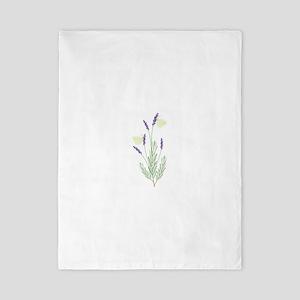 Lavender Butterfly Twin Duvet