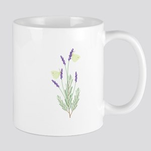 Lavender Butterfly Mugs