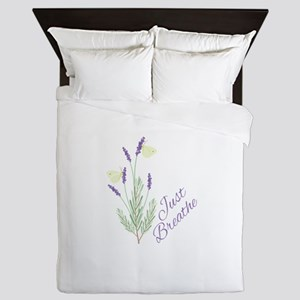 Just Breathe Queen Duvet