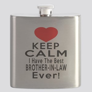 I Have The Best Brother-in-law Flask